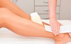 Depilación con cera de medias piernas